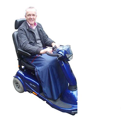 Beinschutzdecke Elektromobil/Rollstuhl mit herausnehmbarem Webpelz Futter
