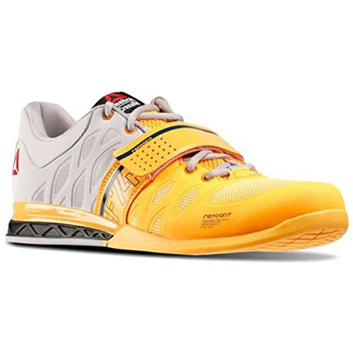 Reebok Mens CrossFit Lifter 2.0 Solar Gold-Steel-Batik...