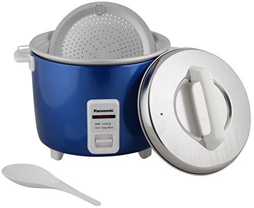 Panasonic SR-WA18H(E) 4.4 Liters Cooker Warmer, Metallic Blue