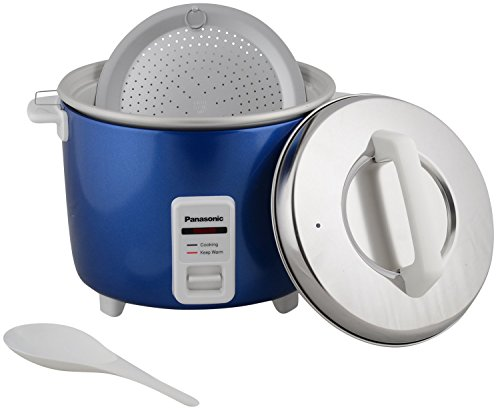 Panasonic SR-WA18H(E) 660-Watt Automatic Cooker Warmer 4.4 Litre (Blue)