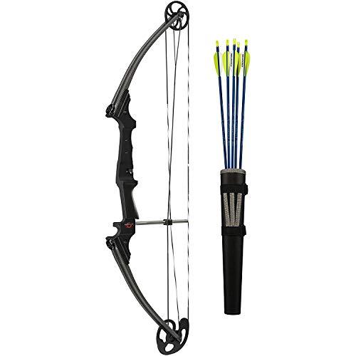 GENESIS ARCHERY GenK-12248 Archery Righ Hand Bow Set, 15-30-Inch/10-20-Pound