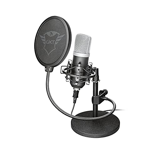 Trust Gaming GXT 252 Emita Micro Studio USB, Microphone professional pour PC, Laptop, PS4, PS5