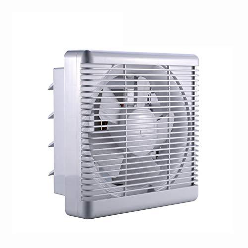 ZQYR Extractor Fans@ Ø 240 mm Ventilador de Escape 30 W 220 V para Montar en la Pared, bajo Ruido, para el hogar, baño, Cocina, Garaje, ventilación de Aire (Volumen de Aire: 500m³ / h)