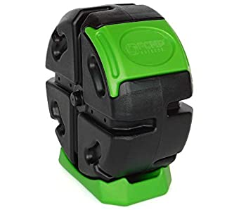 FCMP Outdoor Rolling Composter 2.5 cu ft  Green