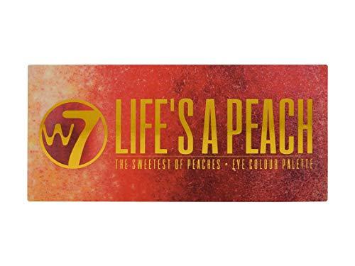 W7 W7 Life's A Peach Lidschatten-Palette, 12Farben 9,6g