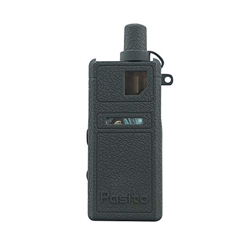 KKmod Texture Silicone Case for Smoant Pasito Mod Kit, Protective Rubber Sleeve Cover Shield