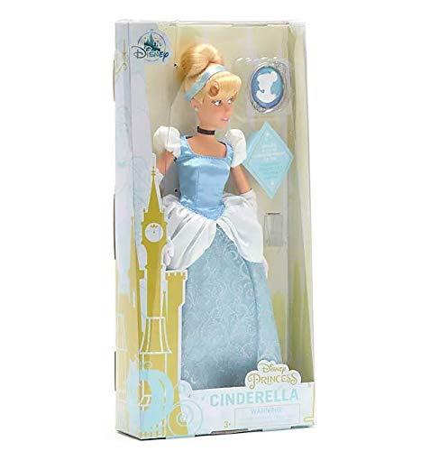 Offizielle Disney Cinderella 28cm Classic Puppe mit Ring