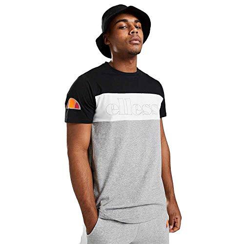 ellesse Herren POGBINO_Mens_Tee Kurzärmeliges T-Shirt, Schwarz, M