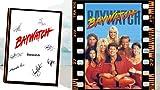 Baywatch Poster und Autogramm, signierter Druck, David