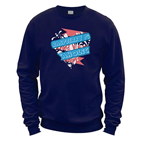 This Way Up Raspberry Pi Aholic Sweater [Navy Small]