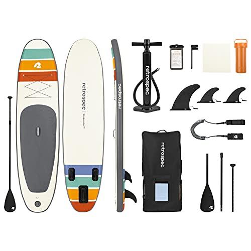 Retrospec Unisex-Erwachsene Weekender Plus 10' Paddleboard, Zion, 10 feet