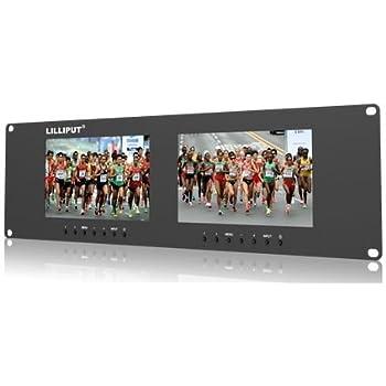 Amazon Com Blackmagic Design Smartview Duo Rackmountable Dual 8 Lcd Monitors Computer Monitors Camera Photo