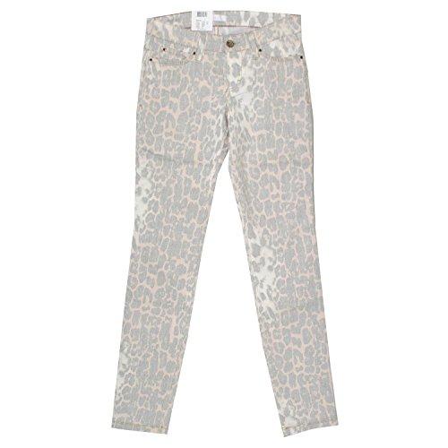 MAC, Skinny Clean, Damen Jeans Hose, Stretchdenim, Rose Leopard, D 34 L 32 Inch 26 [17088]