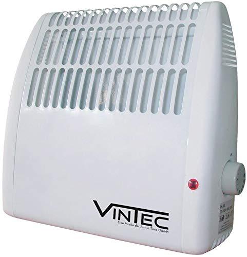 Frostwächter mit Thermostat schaltet automatisch, Heizlüfter für Keller, Garage, Container, Bauwagen, Geräuchlose Heizung