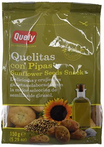 Quely Quelitas Con Pipas 150 g Pack de 10