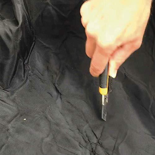 PAKETSAFE – platzsparender Paketsack mit hochwertiger Edestahloptik, anthrazit - 5