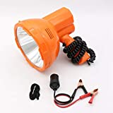 Projecteur tenu dans la main de 12V50W LED pour l'allumeur de cigarette de voiture et la batterie 12V externe