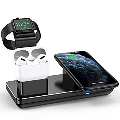 Charging Station for iPhone Apple Watch 5/4/3/2...