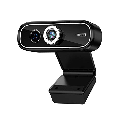 Live Camera 1080P HD Dual Camera UBS Computer Web Conference Online Class Video Built-In Microphone USB Webcam