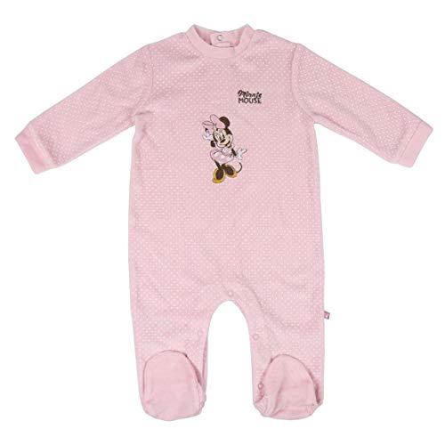 CERDÁ LIFE'S LITTLE MOMENTS 2200006150_T24M-C70 Ropa Invierno Bebe de Minnie - Licencia Oficial Disney, Rosa, 24 Meses para Bebés
