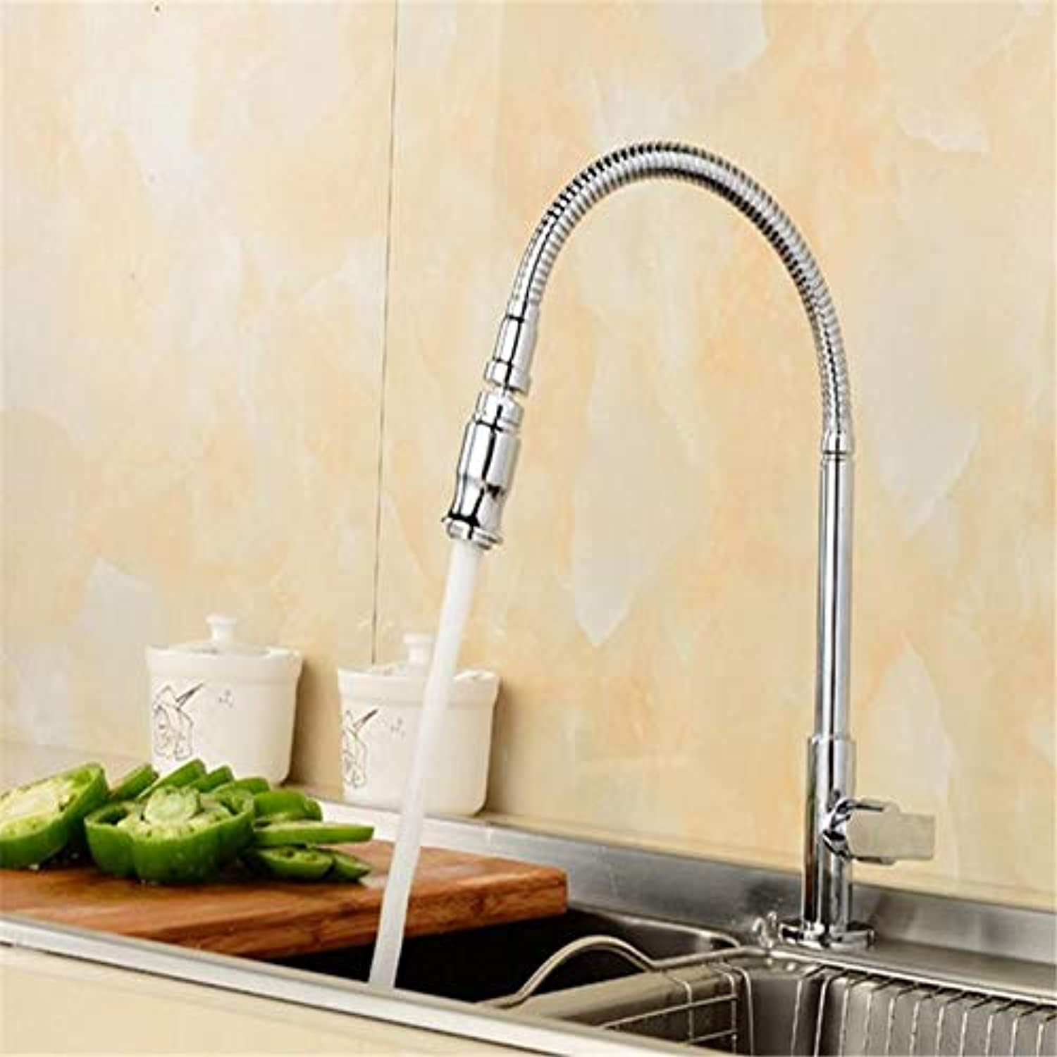 Kitchen Sink Taps Single Cold Faucet Universal Conversion Faucet Copper Kitchen Faucet