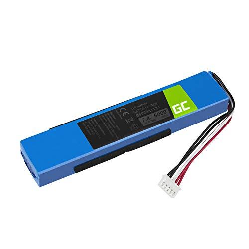 Green Cell ® GSP0931134 Akku, Batterie für Lautsprecher Bluetooth JBL Xtreme 1 Xtreme I (Li-Polymer Zellen 5000mAh 7.4V) zufriedenheitsgarantie, rückerstattung bis zu 30 Tagen