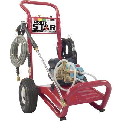 NorthStar Electric Cold Water Portable Pressure Washer Power Washer - 2000 PSI, 1.5 GPM, 120 Volt