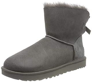 UGG Mini Bailey Bow II Classic Boot, Femme, Gris, 38 EU (5 UK) (B01E96YFC4) | Amazon price tracker / tracking, Amazon price history charts, Amazon price watches, Amazon price drop alerts