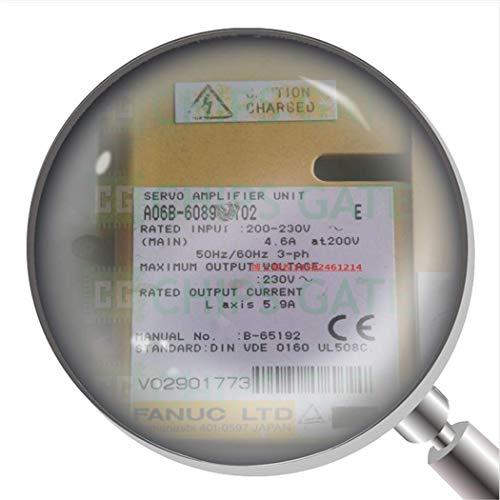 1 amplificador servo usado A06B-6089-H102 A06B6089H102 probado