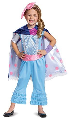 Disney Pixar Bo Peep Toy Story 4 Deluxe Girls Costume