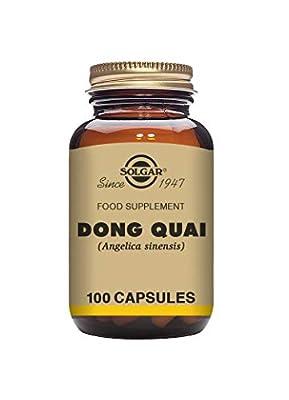 Solgar Dong Quai Vegetable Capsules - Pack of 100 by Solgar