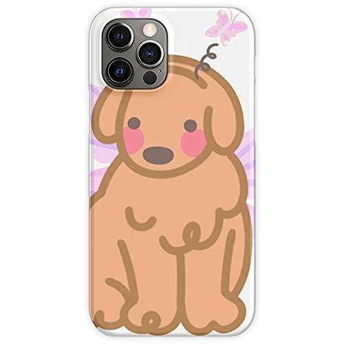 Hengyaai Funda de TPU Pure Clear Phone Cases para Fairy Doggo