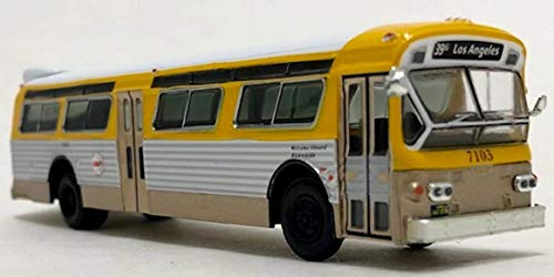 Flxible Fishbowl Bus 1/87 Scale-HO Scale Los Angeles Transit Iconic Replicas New!
