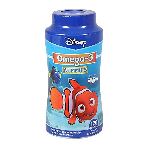 Nemo Omega-3 DHA Gummies | Colores y Sabores Naturales | 120 Gomitas