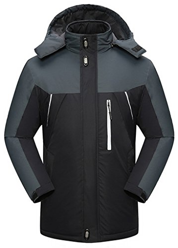 Sawadikaa dames winter outdoorjas waterdicht wandelen fleece oversized ski-jack regenjas