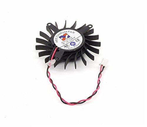 ARX CeraDyna FS1251-A1042A 50mm ATI Sapphire Radeon HD3650 Fan Lüfter 2-Pin 0.2A