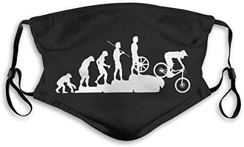 Mountain Bike Downhill Cover Bandana Men Women 5-Layer Activated Carbon Filters Breathable Scarf Shield