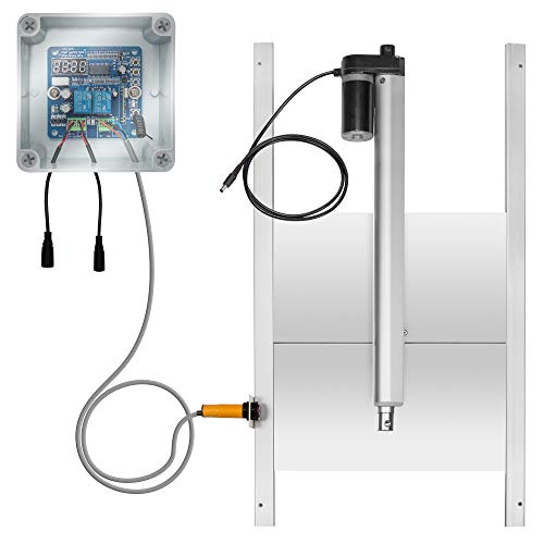 """Jumbl Automatic Chicken Coop Door Opener w/Timer and Remote 