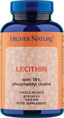 Higher Nature Pc Lecithin Granules, 100 g