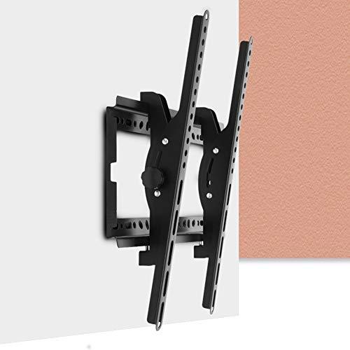 GAESHOW Soporte de Pared para TV de Pantalla Plana, Universal Ajustable 26-55 Pulgadas Inclinación Exposición en el hogar LED Pantalla de TV LCD Soporte de Montaje en Pared