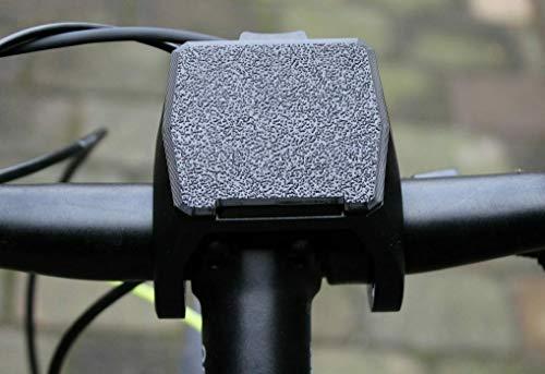F3D Abdeckung kompatibel mit Bosch eBike Displayhalterung Nyon 2020/2021 Kappe Schutzkappe (Schwarz)