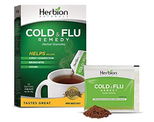 Herbion Naturals Respiratory Care Granules, 10 Count