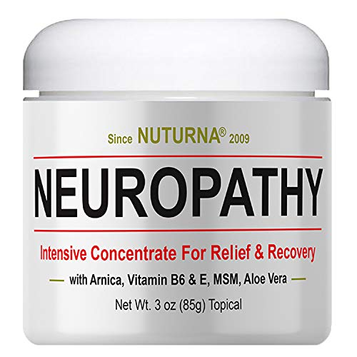 Price comparison product image Neuropathy Pain Relief Cream - Clinical Strength Nerve Support for Leg Hand Foot Toe Pain Relief,  Large 3oz Ultra Strength Arnica,  MSM,  Menthol,  Instant Soothing Relief,  Fast-Acting Anti-Inflammatory