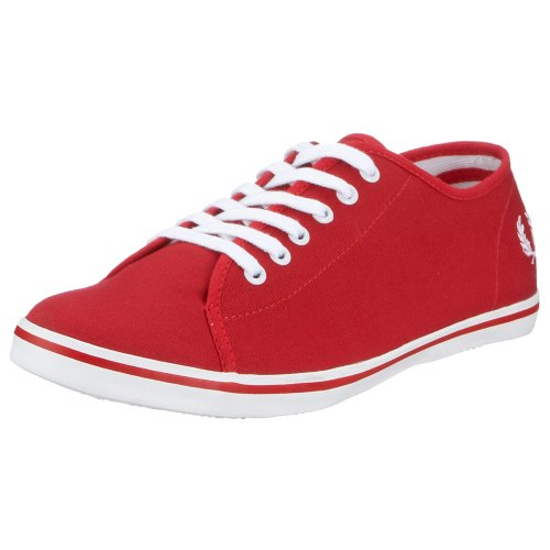 Fred Perry - Zapatillas de Deporte para Mujer, Color Rojo, Talla 40
