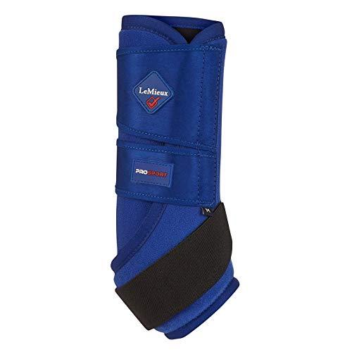 LeMieux ProSport Ultra Support Boots Pair Stützstiefel, Benetton Blue, XL