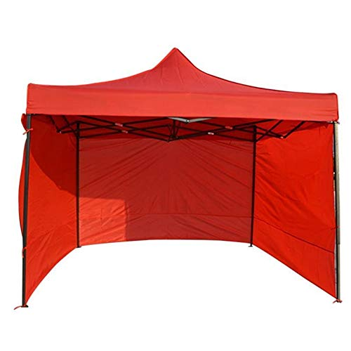 RNDOMIQ Fashion Outdoor Camping Tent Accessories Gazebo Side Panel Durable Sidewall Anti-UV Oxford Cloth (Color : Red 1)