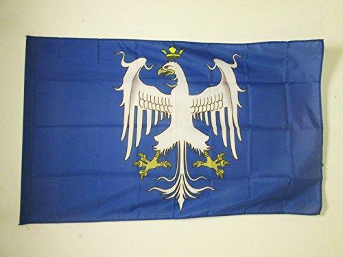AZ FLAG Drapeau Duché de Modène Avant 1830 150x90cm - Drapeau Italien Ancien - Italie 90 x 150 cm Fourreau pour hampe