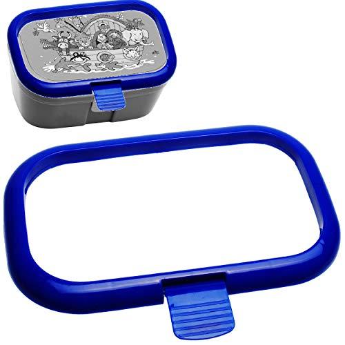 Ersatzteil / Ersatzverschluss - für Lunchbox / Brotdose - blau - für Lutz Mauder & Kinderland & Alles-Meine GmbH - Ersatzdeckel - BPA frei - Brotbüchse Küche ..