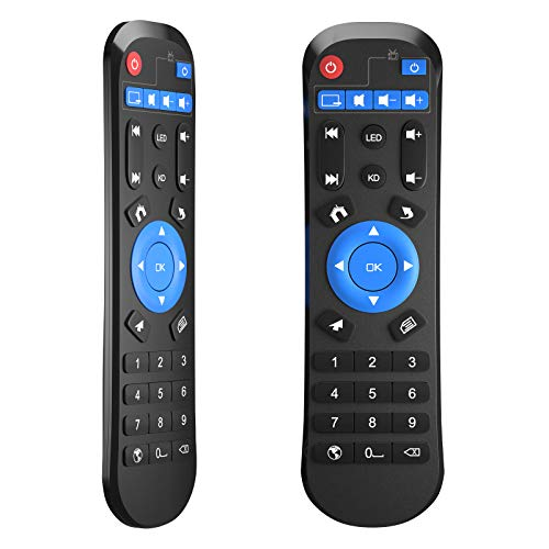 Replacement IR Remote Control for Android TV Box, Compatible with Android Box T9/T95 MAX/T95 MAX+/T95 H616/Q+/T95H Smart TV Streaming Box