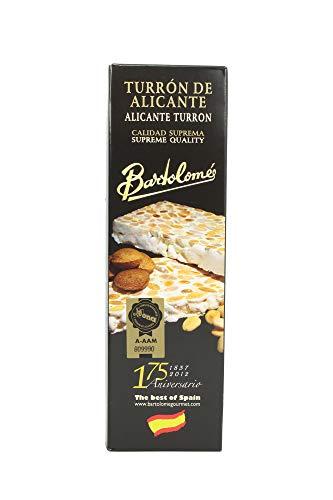 Nougat Alicante Style Strong - Marcona Almond - Supreme Quality - 70 grammi - Senza glutine (70 grammi)